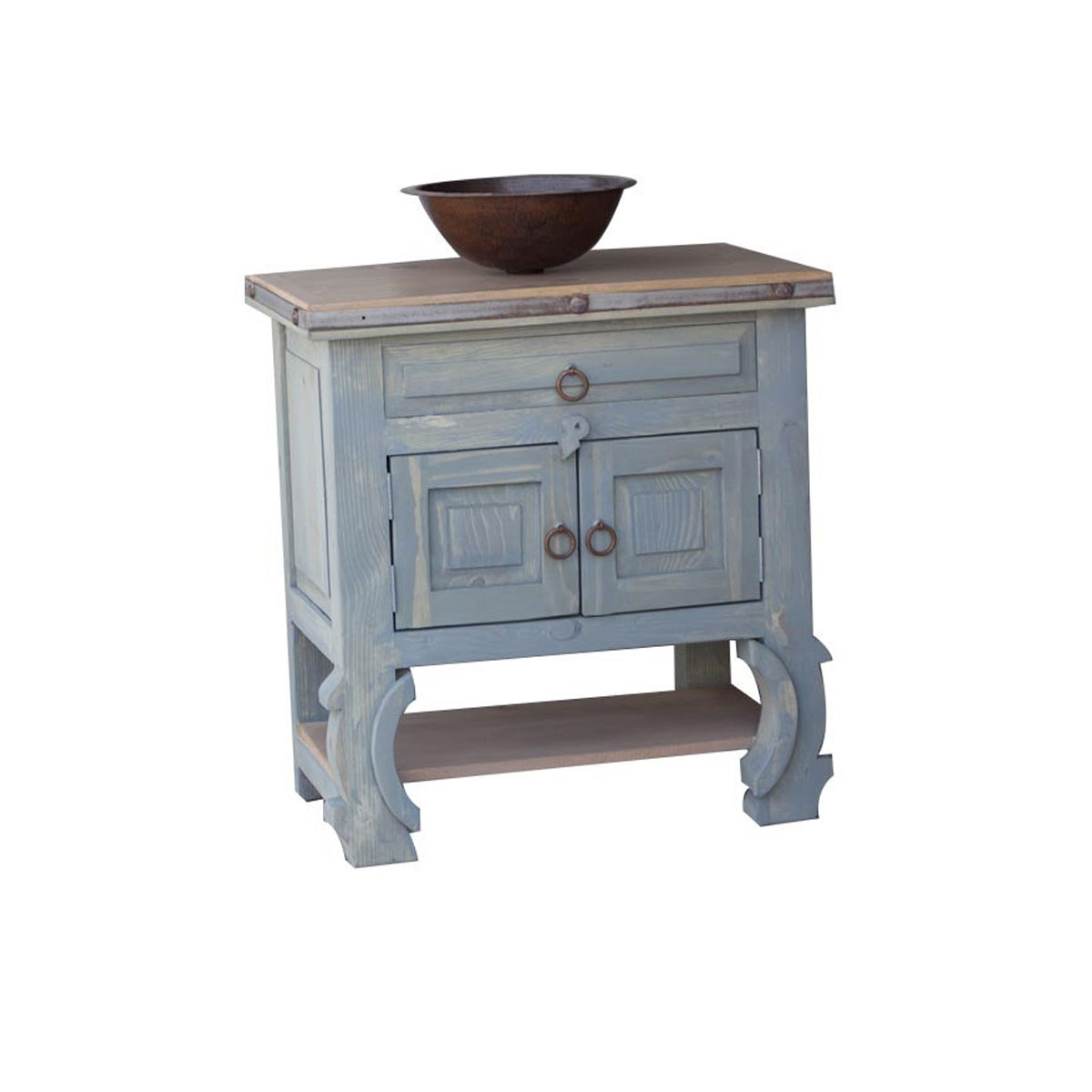 Unique And Ornate Small Bathroom Vanity For Sale