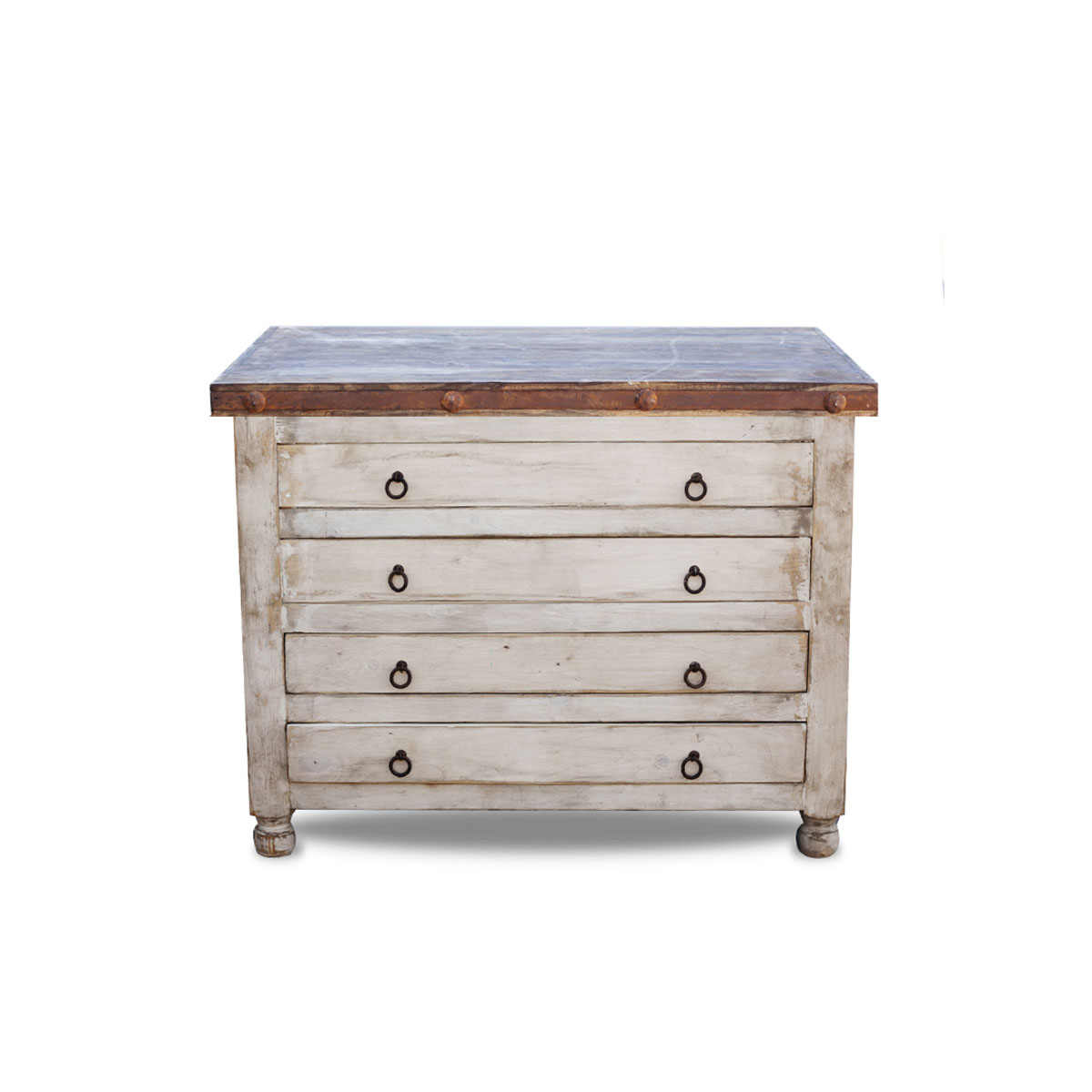 order chic and rustic small white vanity with 4 drawers online