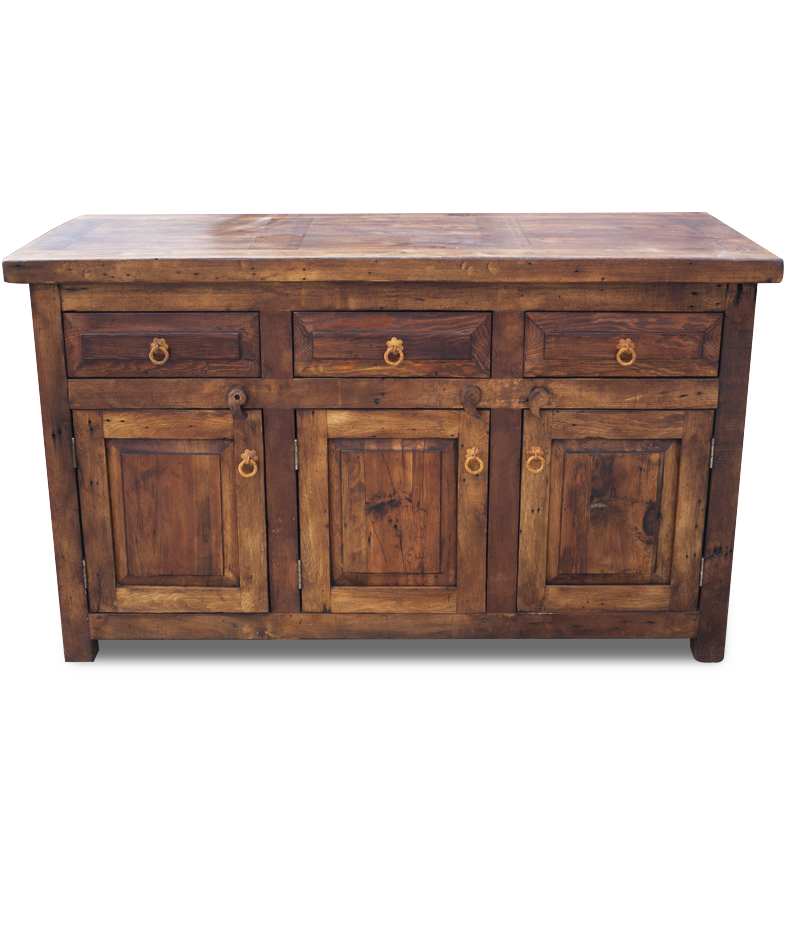Buy Christopher Rustic Vanity With 3 Drawers And Doors Online