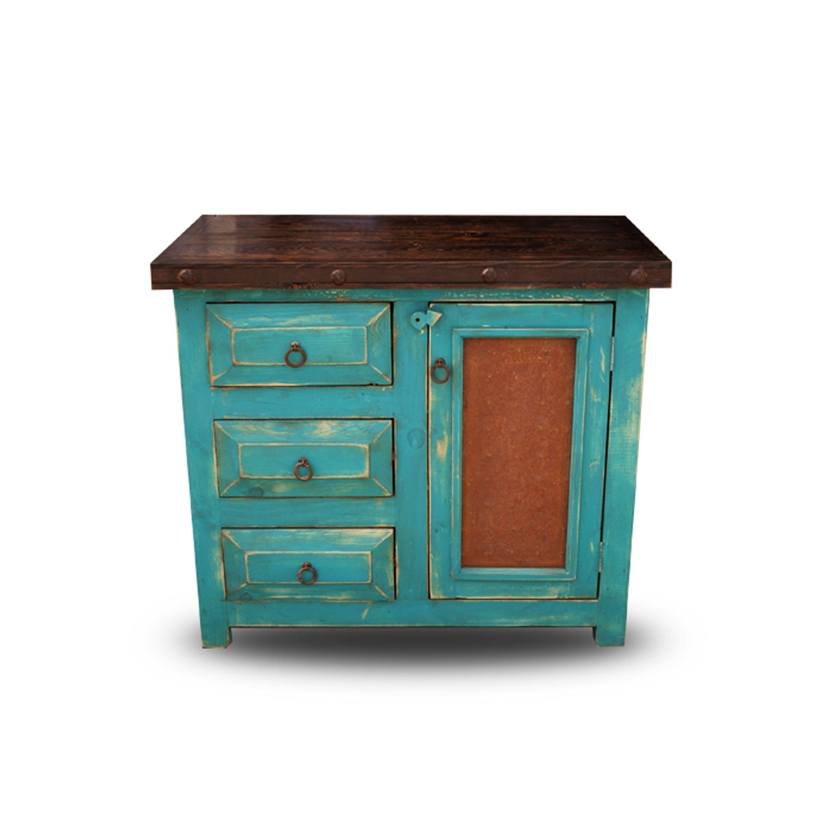 order chico small rustic bathroom vanity with oxidized