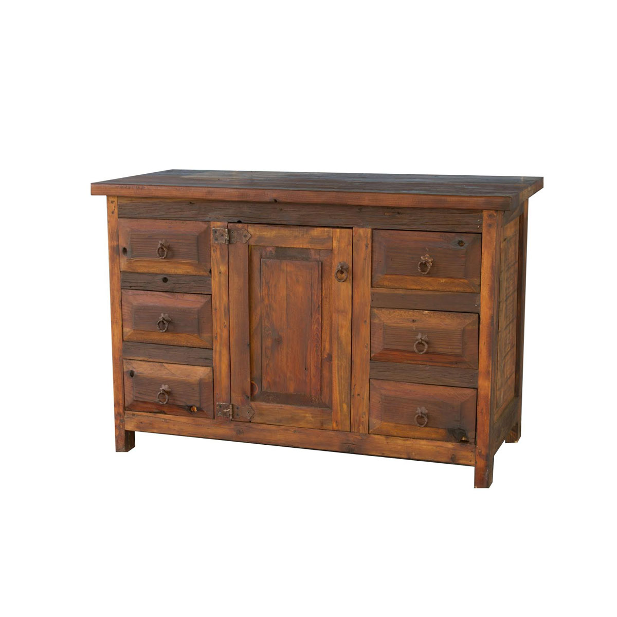 Beautiful Rustic Aspen Log Bathroom Vanity 36 Inch  Reclaimed Furniture Design